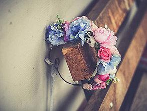 Ozdoby do vlasov - Kvetinový venček