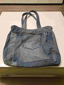 Veľké tašky - Riflové tašky (viac variant) - 10455317_
