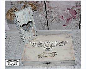 "Krabičky - Krabica s menom ""Vintage ornament"" :) - 10455258_"