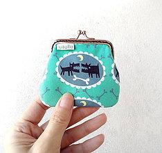 Peňaženky - Peňaženka mini Veľké psi - 10452520_