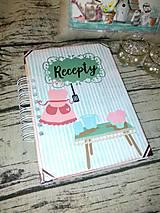 Papiernictvo - Receptár Pastelová kuchyňa - 10452365_