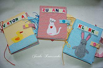 Hračky - obal na knihu - zvieratko - 10456149_