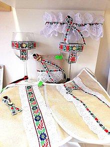 Pierka - Svadobný folklórny set - 10456691_