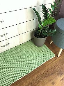 Úžitkový textil - Svetlozelený koberec - 10458741_