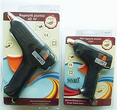 Pomôcky/Nástroje - Lepiaca tavná pištoľ - 10456536_