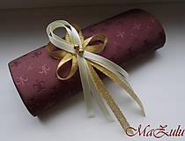 Pierka - Svadobné pierko v zlatom X. - 10456863_