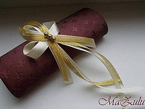 Pierka - Svadobné pierko v zlatom XI. - 10456911_