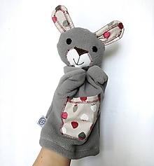 Hračky - Maňuška zajac - Zajko z Jahôdkovej ulice - 10458424_
