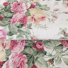 Textil - pevné režné plátno Anglická záhrada, šírka 140 cm - 10456657_