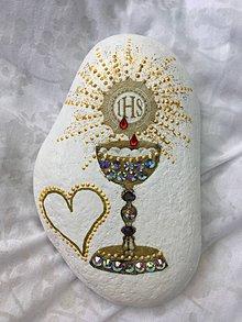 Dekorácie - Pamätný kameň k 1.sv.prijímaniu - 10457461_