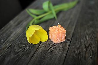 Svietidlá a sviečky - Darček pre...  (Oranžová) - 10458009_