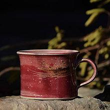 Nádoby - Hrnek Pařez 450 ml - v kraji vína Bordeaux - 10457831_