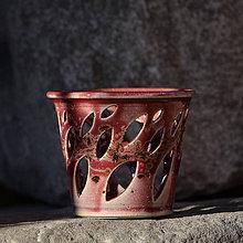 Svietidlá a sviečky - Lampička Véčko lístek - v kraji vína Bordeaux... - 10457908_