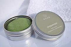 Drogéria - tuhý šampón - peppermint - 10459102_