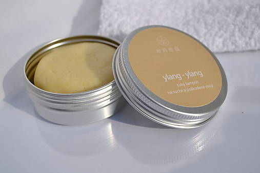 tuhý šampón - ylang-ylang