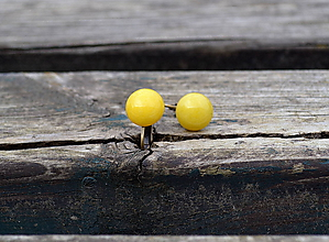 Náušnice - Jadeit klipsne starobronz - 10459434_