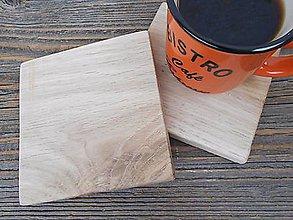 Pomôcky - drevené podšálky - 10459637_