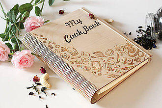 "Papiernictvo - Receptár ""Cook Book"" - 10457420_"