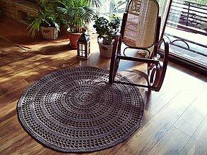 Úžitkový textil - Koberec s priemerom až 140cm - 10457829_