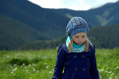 Jarná ~ návod na háčkovanú čiapku