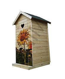 Nezaradené - Drevená latrína s potlačou - 10457516_
