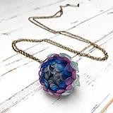 Náhrdelníky - Listopadka Agáta- náhrdelník z PET - 10457197_