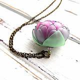 Náhrdelníky - Listopadka Jasmínka- náhrdelník z PET - 10457227_