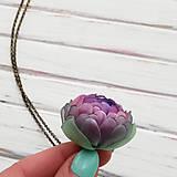 Náhrdelníky - Listopadka Jasmínka- náhrdelník z PET - 10457228_