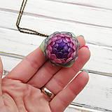 Náhrdelníky - Listopadka Jasmínka- náhrdelník z PET - 10457229_