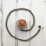 Náhrdelníky - Listopadky Annie- náhrdelník z PET - 10457359_