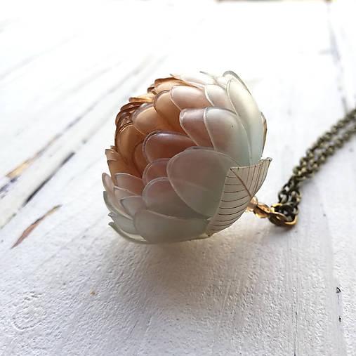 Listopadky Annie- náhrdelník z PET