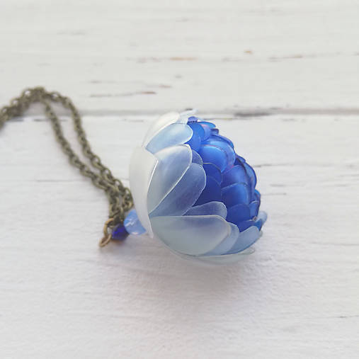 Listopadky Liana- náhrdelník z PET