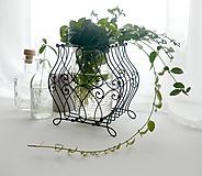 Pomôcky - Stojan na rastlinky - kvetinky - 10457961_