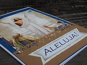 """Papiernictvo - ...pohľadnica veľkonočná """"Aleluja""""... - 10456570_"""