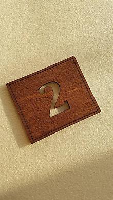Tabuľky - Tabuľka s označením izby - 10457065_