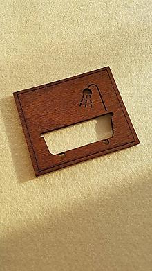 Tabuľky - Tabuľka s označením kúpelňa - 10457077_