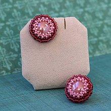 Náušnice - Cupcakes solid (Ružová) - 10459281_