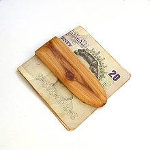 Tašky - Topoľová spona na peniaze - 10457847_