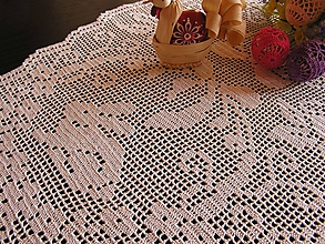 Úžitkový textil - *** Veľkonočný zajačik - oválne prestieranie *** - 10462945_