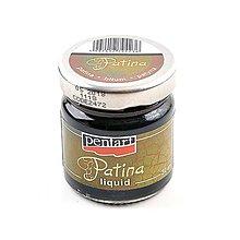 Farby-laky - Tekutá patina (patina bitumen), 30 ml - 10460808_