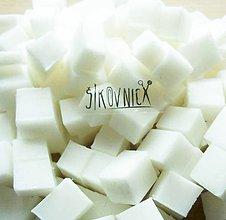 Suroviny - Hmota na výrobu mydla, s kozím mliekom, 1000 g - 10461815_