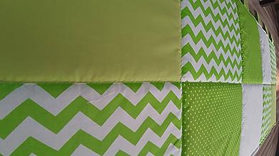 Úžitkový textil - Zástena za posteľ ... V tráve - 10463450_