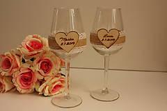 Svadobné poháre - vintage