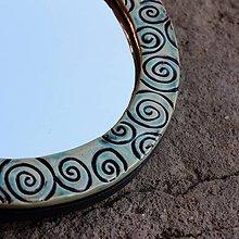 Zrkadlá - zrkadielko so špirálami - 10461310_