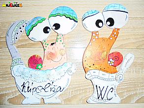 Tabuľky - Menovka - kúpeľňa a WC - 10463286_