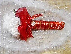 Dekorácie - kytica ruži - 10463885_