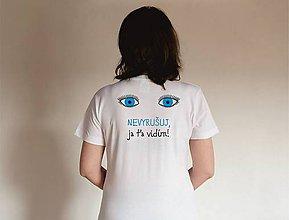 Tričká - tričko nevyrušuj - 10461753_