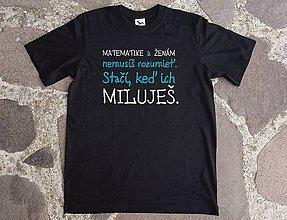Tričká - tričko pre matikára - 10463394_
