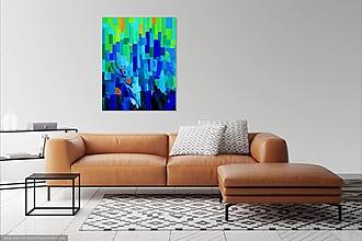 """Obrazy - """"Kalopó"""" akrylová maľba-abstrakcia - 10461510_"""