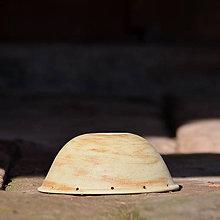 Materiál ručne robený - Kameniný vrchlík na světlo 19 cm - Natura 1 - 10462096_
